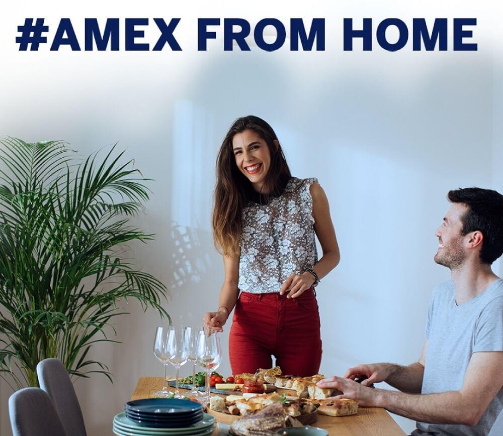 Amex Form Home