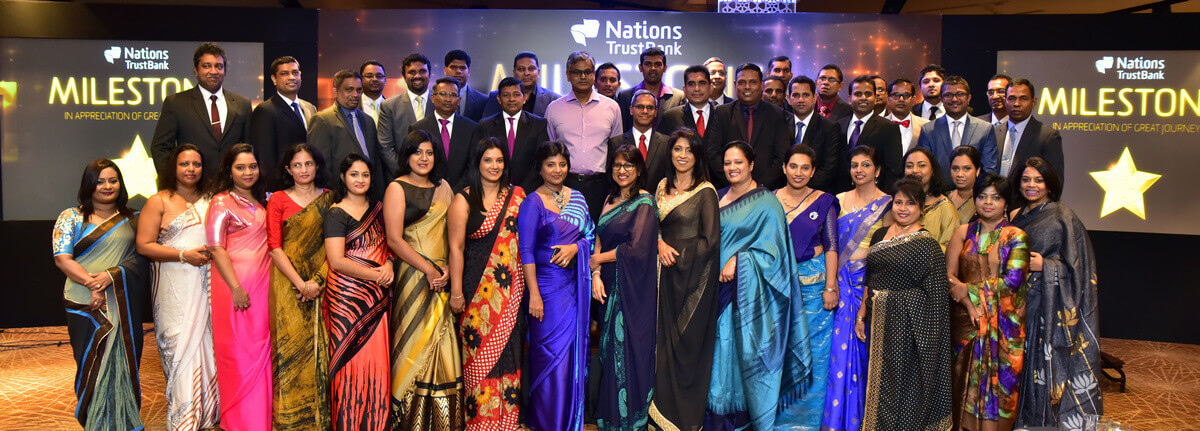 Nations Trust Bank honours employees in style