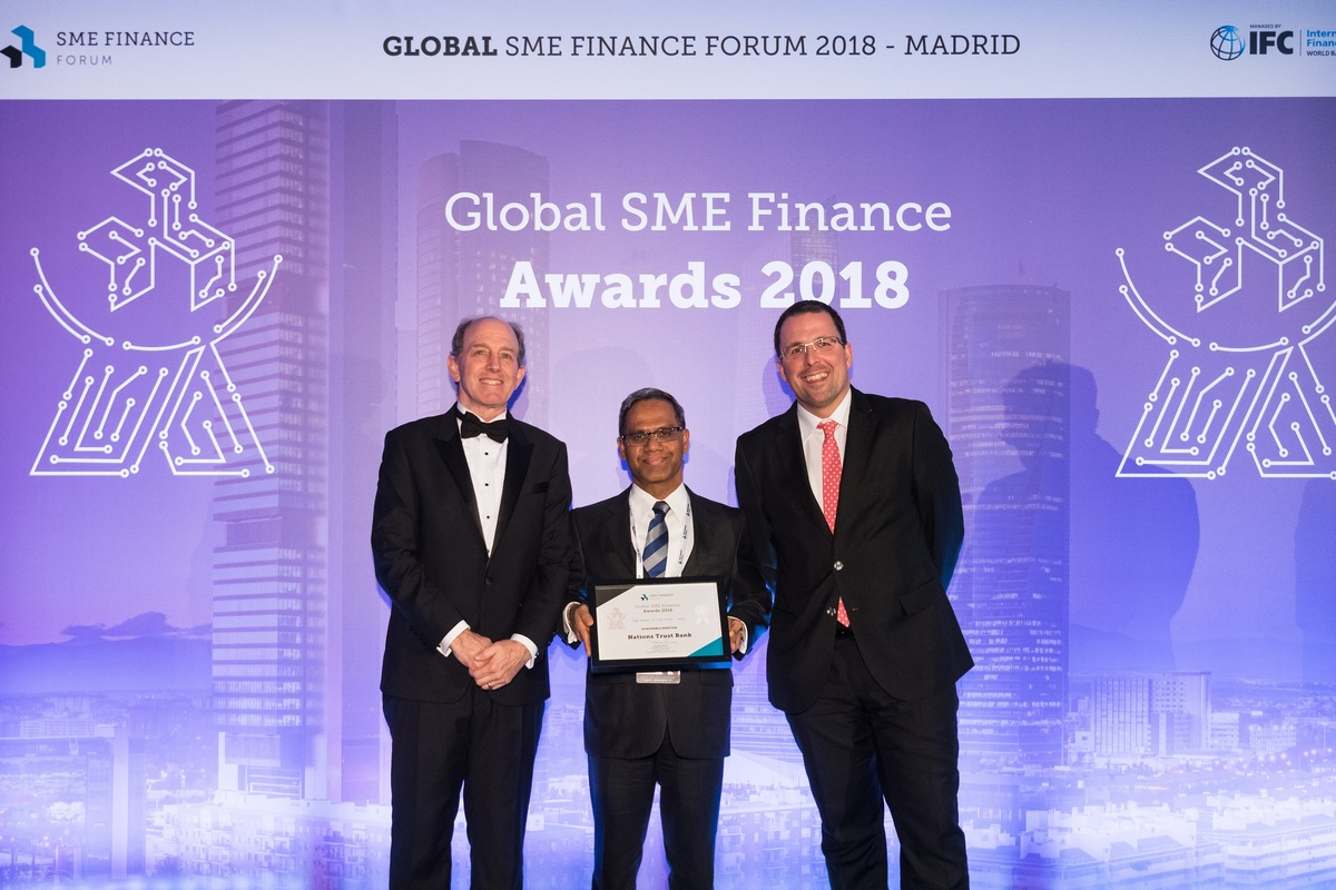 Nations Trust Bank Recognized at Global SME Finance Awards